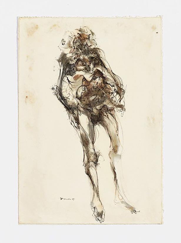 Gravure de Jim Monson : Cadavre / Cadaver
