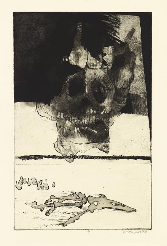 Gravure de Jim Monson : Memento Mei