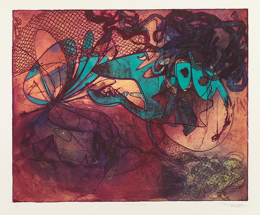 Gravure de Jim Monson : Meloncolia