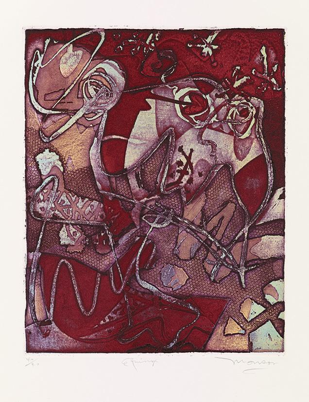 Gravure de Jim Monson : Equinox