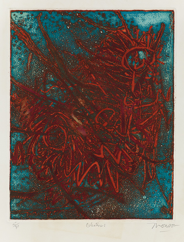Gravure de Jim Monson : Celestine I