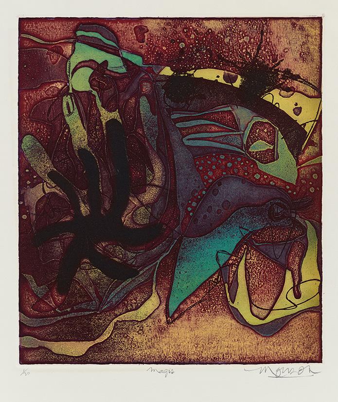 Gravure de Jim Monson : Magis