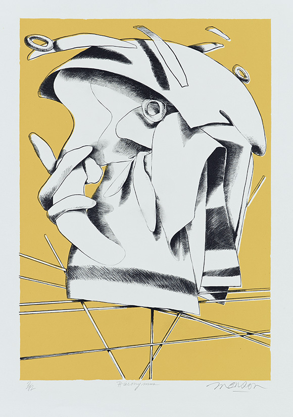 Lithographie de Jim Monson : Hieronymus