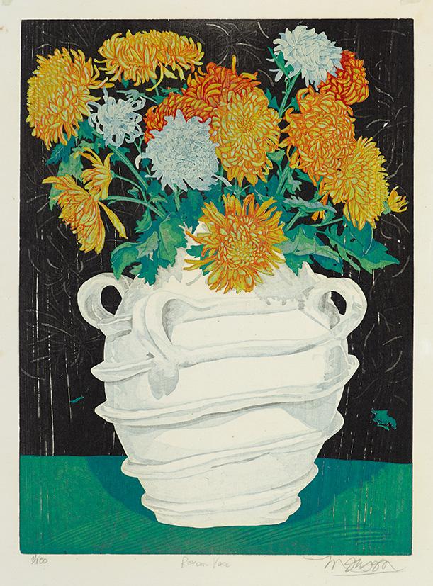 Bois grave de Jim Monson : Roman Vase