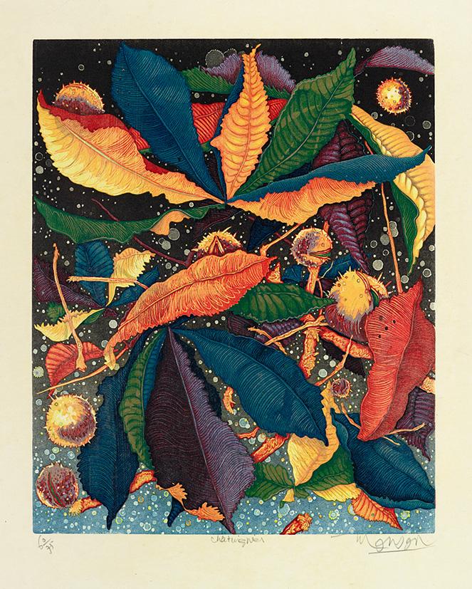 Bois grave de Jim Monson : Châtaignier / Chestnuts