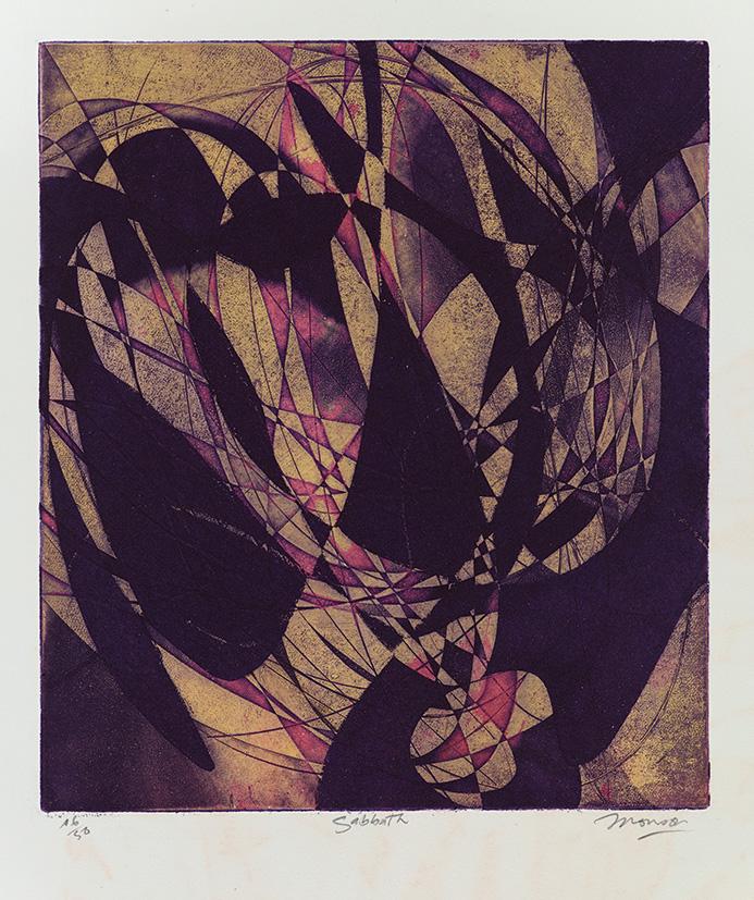 Gravure de Jim Monson : Sabbath