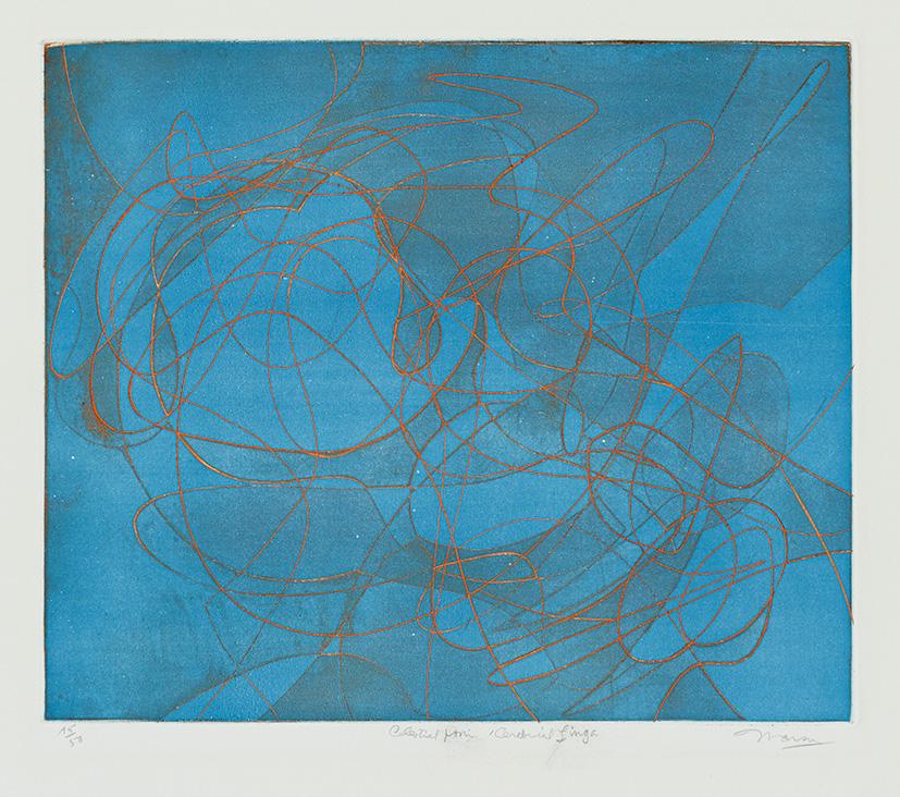 Gravure de Jim Monson : Celestial Yoni - Cerebral Linga