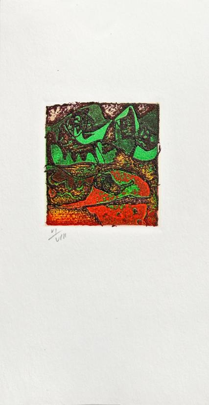Gravure de Jim Monson : Rot Kopf