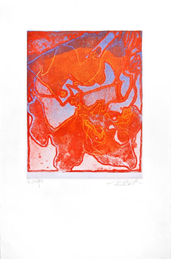 Gravure de Jim Monson : Rhinoceros